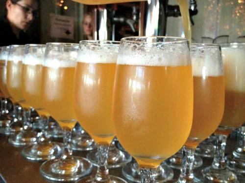 Spinnerstown Hotel beer tasting