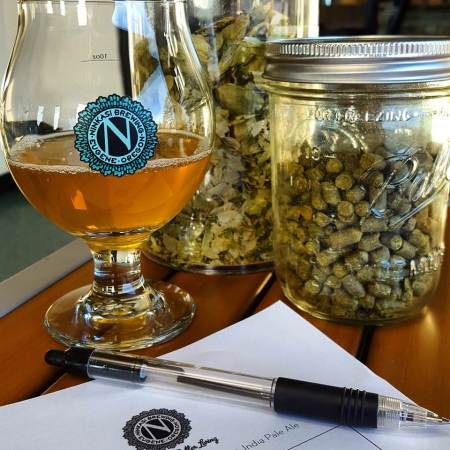 Beer with Hops, Ninkasi Brewing Facebook
