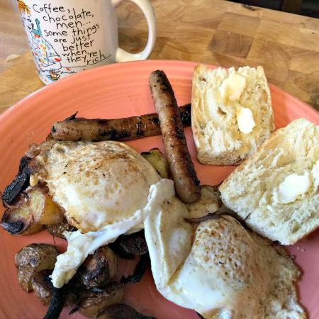 Yardley Farmers Market breakfast