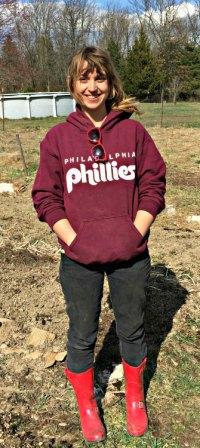 Amber Parise, Rolling Hill Farm, photo credit Lynne Goldman