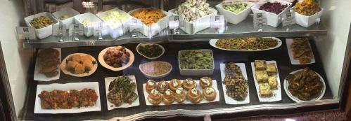 Salads in the case_photo courtesy of Max Hansen Kitchen