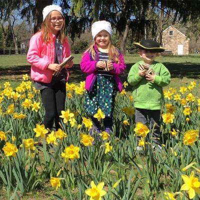 Kids, Washington Crossing Historical Park