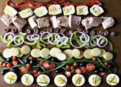 Salad, Hamilton's Grill Room
