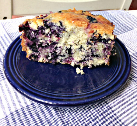 Blueberry Buckle; photo credit L. Goldman