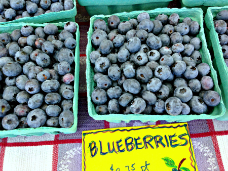 Blueberries, Wrightstown Farmers Market