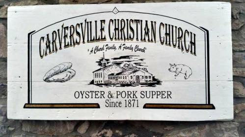 Carversville Christian Church Oyster & Pork Supper