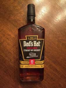 Dad's Hat Straight Rye Whiskey