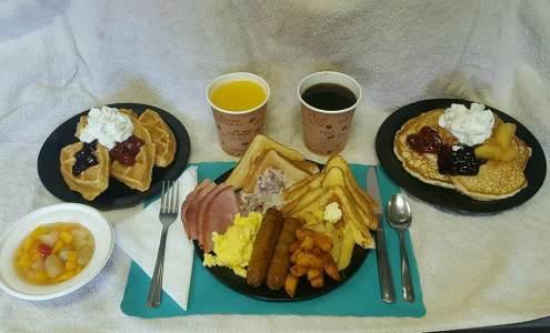 Haycock Fire Company breakfast