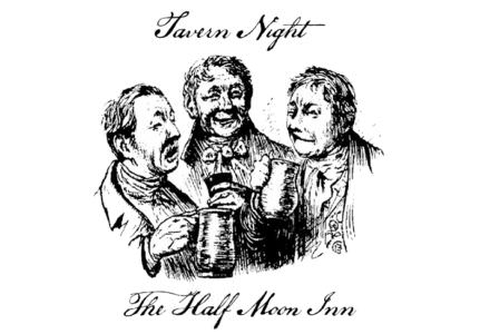 Tavern Night at the Half Moon Inn, food in Bucks County