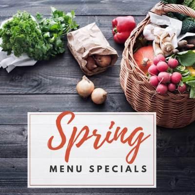 Spring menu specials, Karlton Cafe