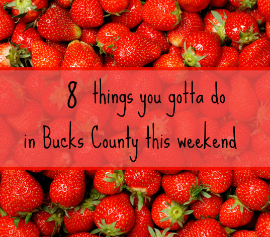 8 things you gotta do in Bucks this weekend (May 19-21)