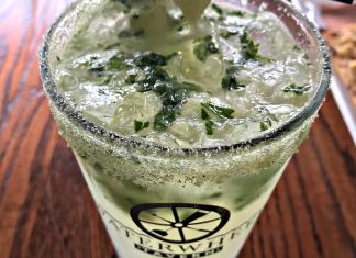Lime Basil Mojito_Water Wheel Tavern; photo credit Lynne Goldman