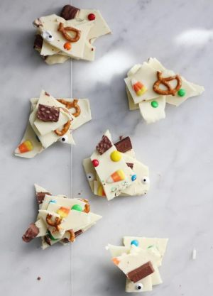 Halloween Bark Candy; photo courtesy Parade Magazine
