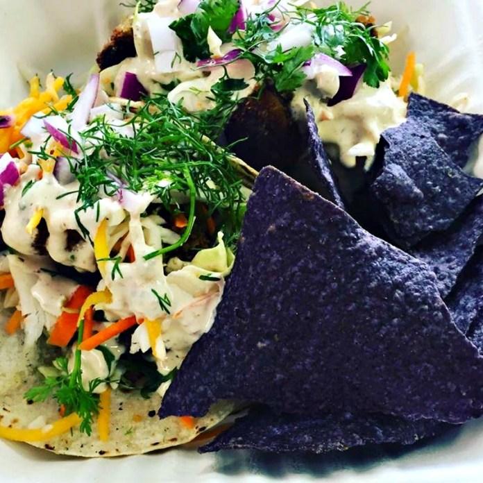 Baja Shroom Tacos. Photo courtesy Clean Roots