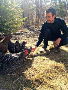 Chris Whitney, Locktown Farm, permaculture