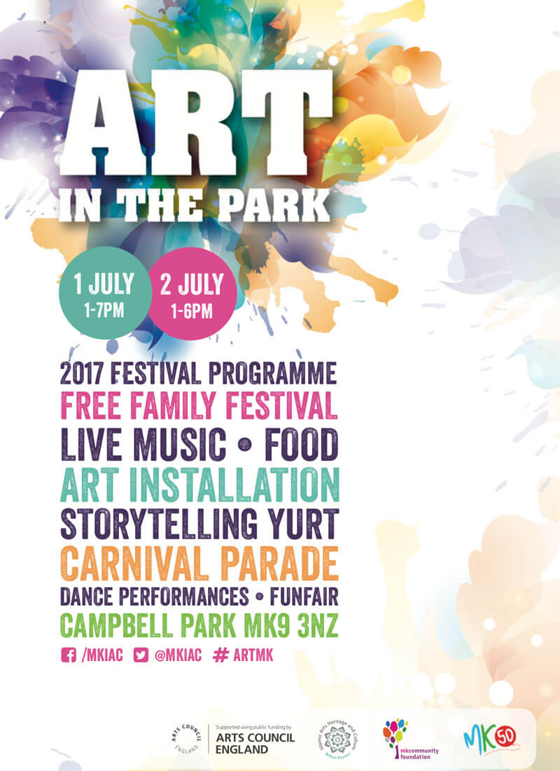Art in the Park Programme Cover