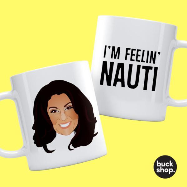 Jane McDonald - Personalised Mug - I'm Feeling Nauti