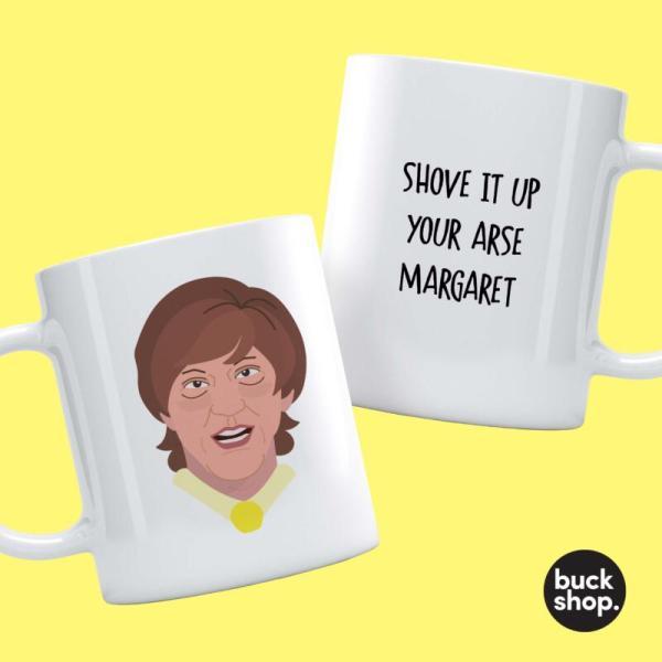 Mr G - Shove It Up Your Arse Margret - Personalised Mug
