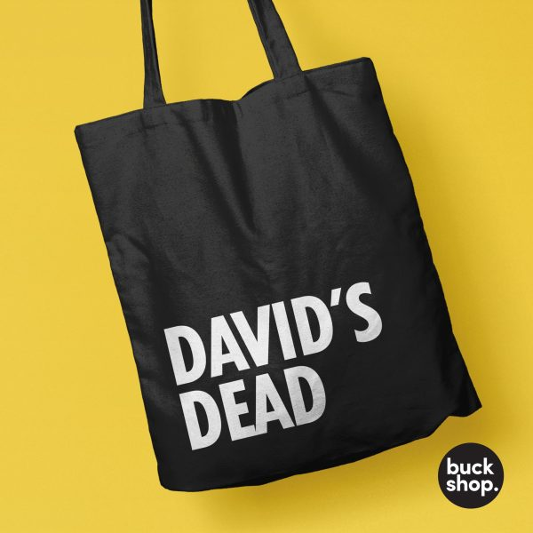 David's Dead Tote Bag inspired by Big Brother