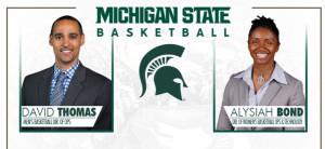 David Thomas Named Director of Men's Basketball Operations; Alysiah Bond Becomes Director of …