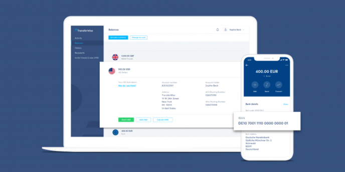 TransferWise borderless businesses