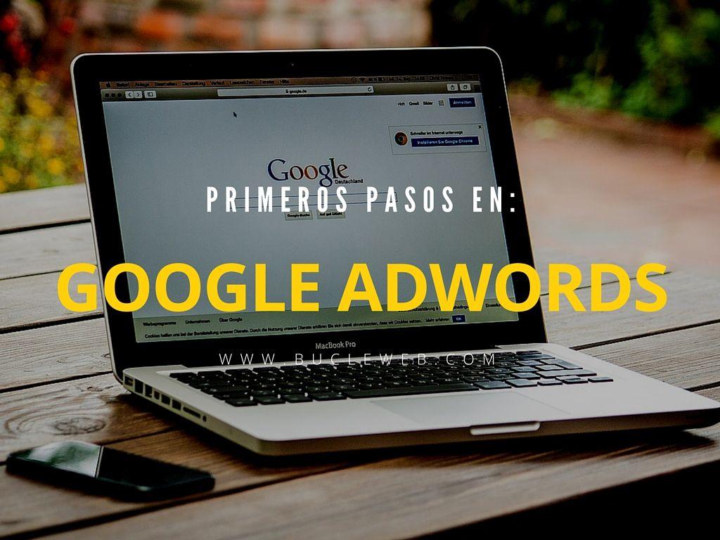 primeros pasos en adwords