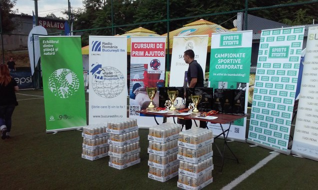 BucurestiFM Campionatul Corporate de Fotbal Sports Events Sud Arena 1