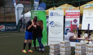 BucurestiFM Campionatul Corporate de Fotbal Sports Events Sud Arena 3