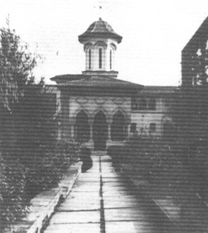 The Nuns' Convent before being demolished
