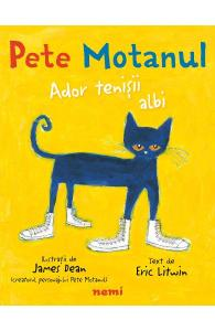 cărți copii 0-6-ani-Pete motanul