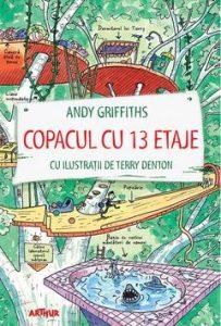 cărți băieți 7-9 ani-Copacul cu 13 etaje