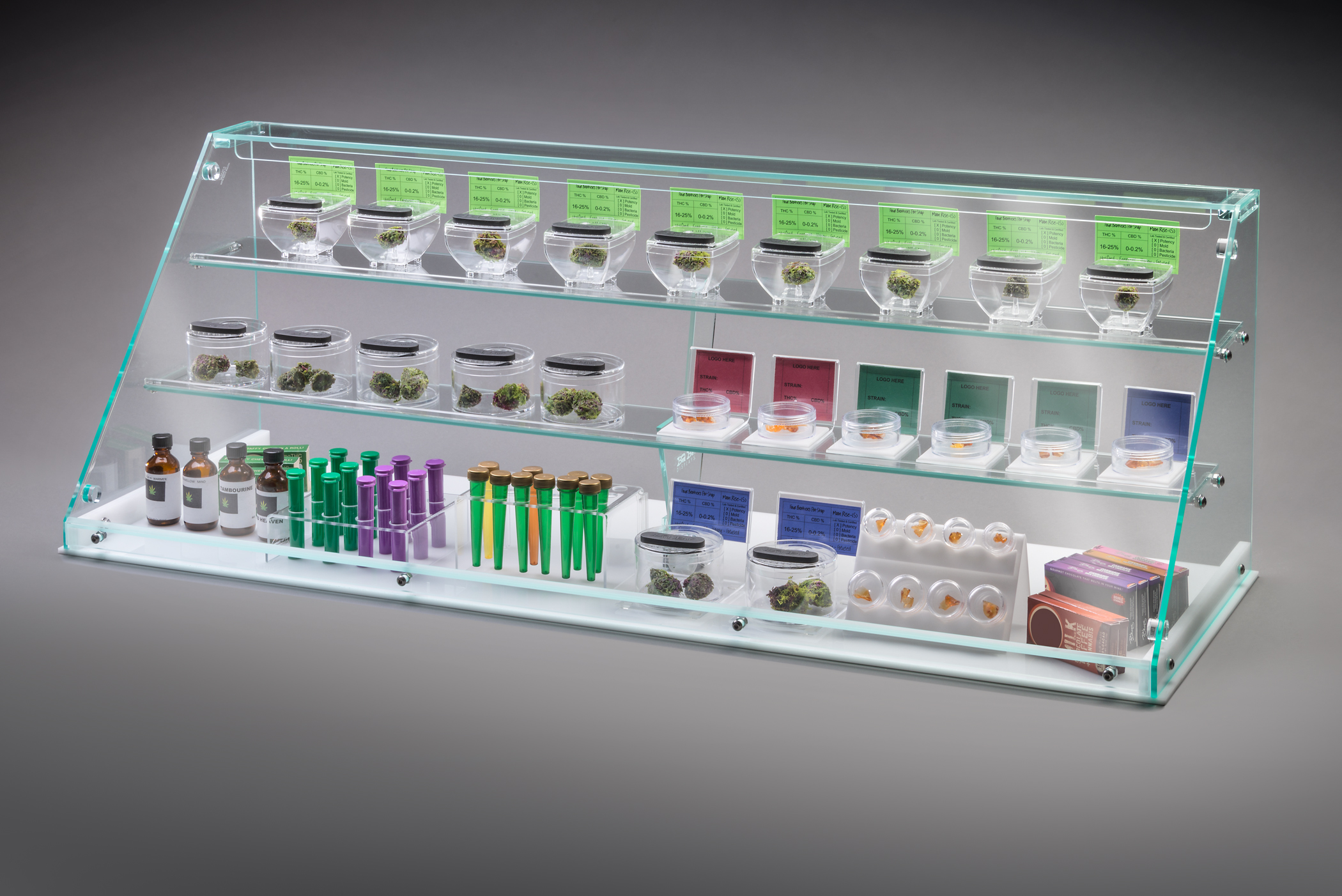 EcoPod Display Cabinet  Bud Bar Displays
