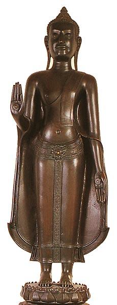 Thailand Buddha Images Khmer Lopburi style Buddha Image