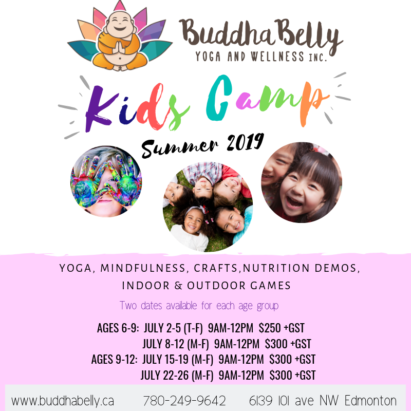 kids camp yoga kids summer camp best yoga studio edmonton day camp yoga reiki workshops