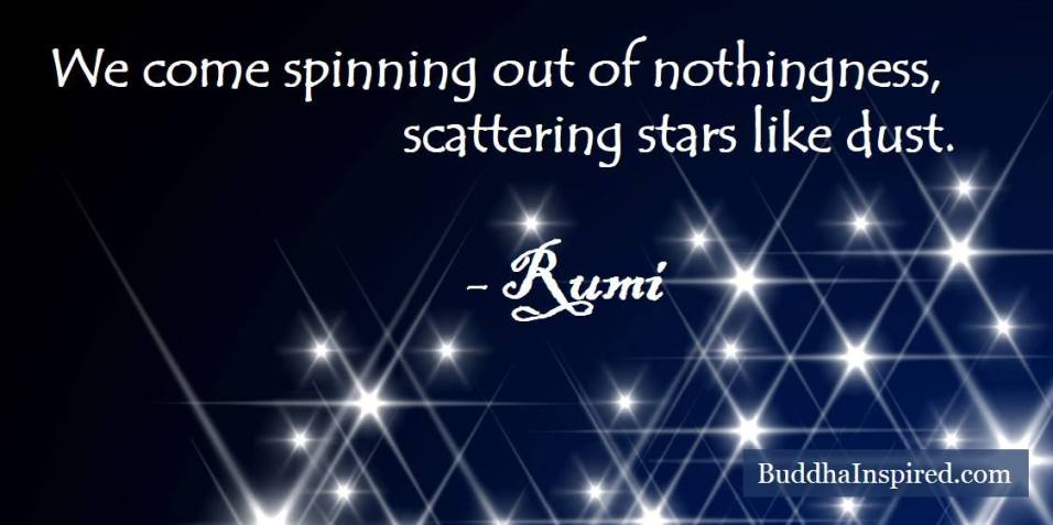 Scattering Stars like Dust - Rumi