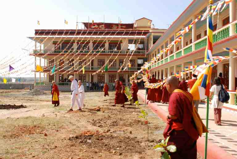 Gaden Shartse Tawon Khangtsen Monastery (January 2009), build with the support from Pneuma Institute and Juan Ruiz Naupari