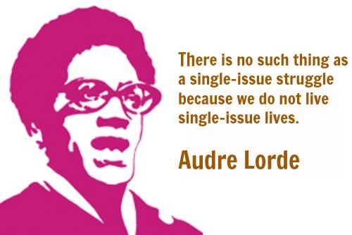 audre lorde single issue