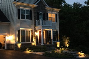 Landscape Lighting Design Howard County, Baltimore, Carroll, Frederick & Montgomery counties.