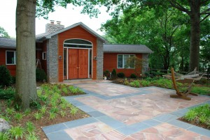 Front Walkway design and construction in Howard County, Baltimore, Carroll, Frederick & Montgomery counties.