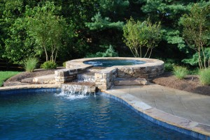 Outdoor Spa construction in Howard County, Baltimore, Carroll, Frederick & Montgomery counties.