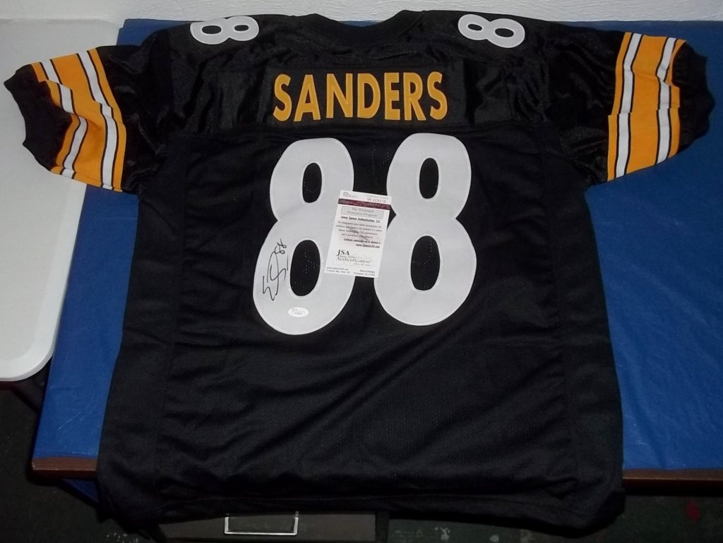new style 4834b f2ff7 Emmanuel Sanders Signed Pittsburgh Steelers Jersey » Budd's Collectibles