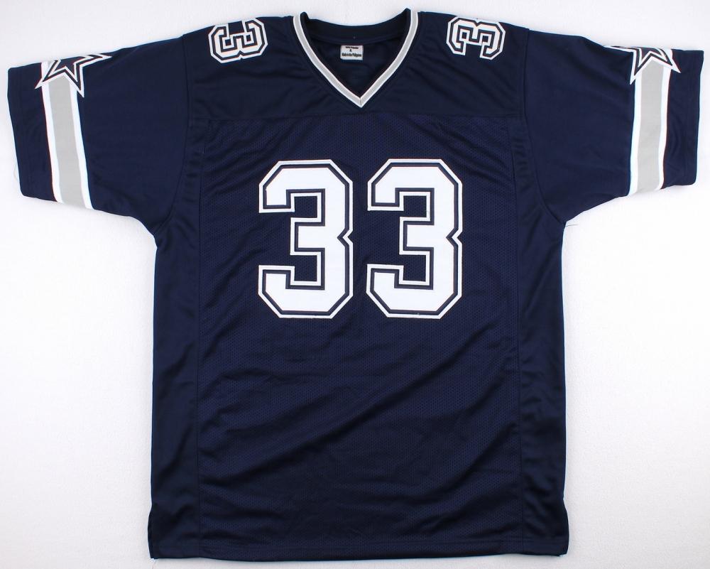 Tony Dorsett Signed dallas Cowboys Jersey » Budd s Collectibles e70c84553