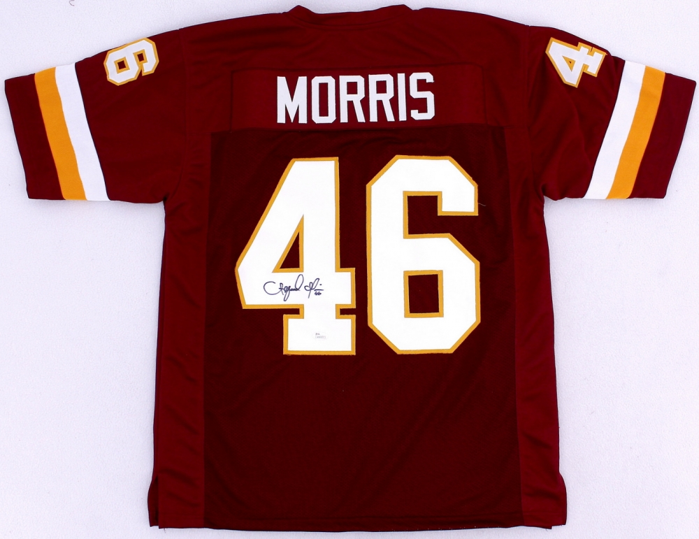 Alfred Morris Signed Washington Redskins Jersey