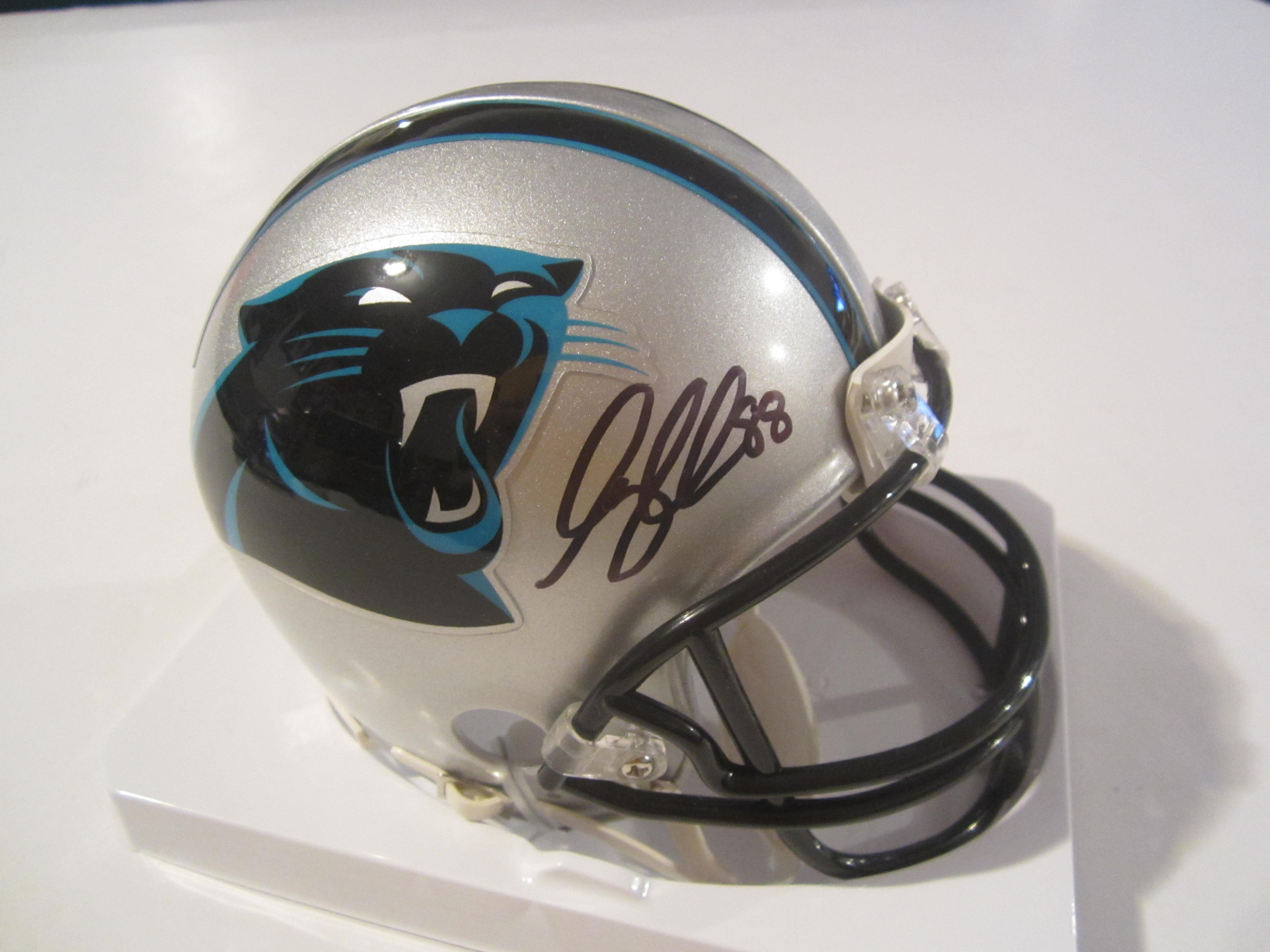 Greg Olsen Signed Carolina Panthers Mini Helmet » Budd s Collectibles 74505c948