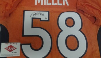 Von Miller Denver Broncos Signed autographed Jersey PAAS certificate of  authenticity aa7846d96