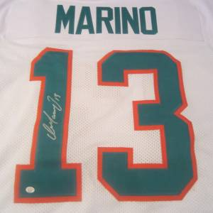 Dan Marino Miami Dolphins Hand Signed Autographed Jersey