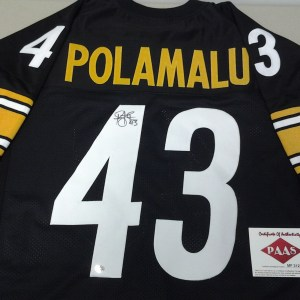 Troy Polamalu Pittsburgh Steelers signed autographed Jersey