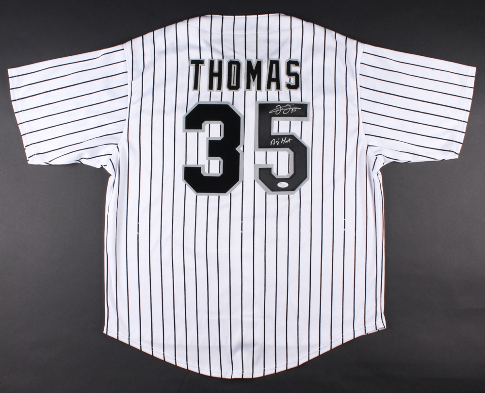 the latest c324c fce88 Frank Thomas Signed Autographed Chicago White Sox Jersey