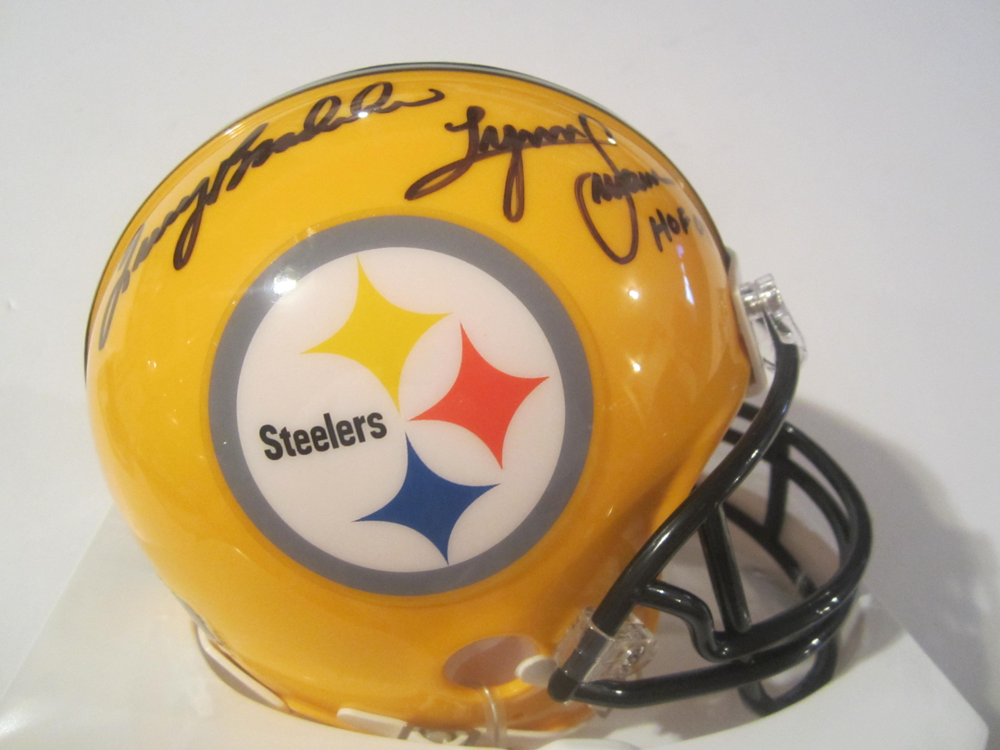 22c72965a Terry Bradshaw Lynn Swann Pittsburgh Steelers Hand Signed ...