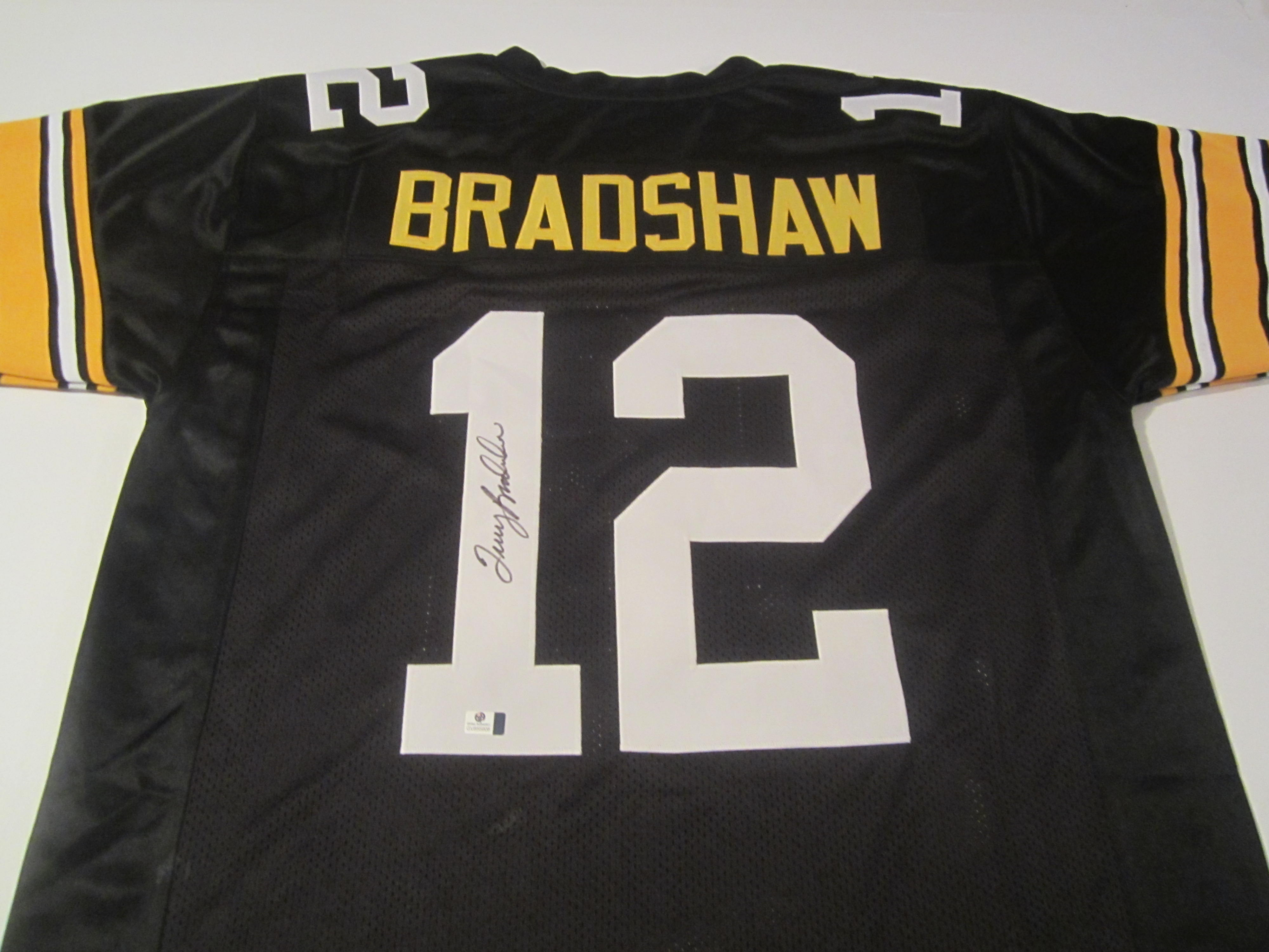 huge discount f1eef e20f6 Terry Bradshaw Pittsburgh Steelers Hand Signed Autographed Jersey
